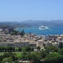 Город Керкира - столица острова Корфу