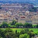 Город Керкира на острове Корфу (Керкира) в Греции