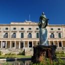 Дворец Святых Михаила и Георгия на острове Корфу (Керкира) в Греции.