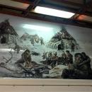 Реконструкция быта древних людей в музее-заповеднике «Костёнки».
