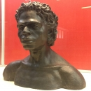 Скульптурная реконструкция человека из погребения стоянки Костёнки 14.