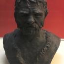 Скульптурная реконструкция человека из погребения стоянки Костёнки 2.