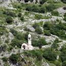 Недействующая церковь Богоматери Здоровья (1518 год) на крепостной стене Котора.