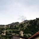 Крепостная стена в городе Котор. Черногория.