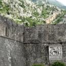Венецианский лев на городской стене Котора.