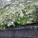 Крепостная стена и церковь Святого Николая в Которе.