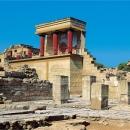 Кносский дворец на острове Крит в Греции