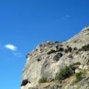 Виды на Горы по горной тропе Голицина. Курорт Новый свет в Крыму.