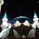 Мечеть Кул-Шариф украшают 8 минаретов, каждый из которых венчает шпиль с полумесяцем.