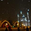 Мечеть Кул-Шариф зимой.