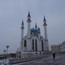 Мечети Кул-Шариф придает красоту купол в виде «Короны казанских ханов».