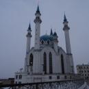 Мечеть Кул-Шариф построена (1996-2005) на территории Казанского кремля к тысячелетию Казани.