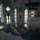 Молитвенный зал мечети Кул-Шариф. Казанский кремль.