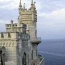 Ласточкино гнездо в Крыму. Поселок Гаспра.