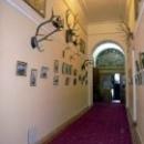 Выставка «Царская охота» в коридоре Белого Ливадийского дворца императора Николая II.