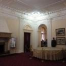 Первый этаж Ливадийского дворца. Парадные залы, где представлена экспозиция «Крымская (Ялтинская) конференция 1945 года».