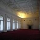 Заседания делегаций Ялтинской конференции проходили  в Белом зале дворца (парадной Столовой).