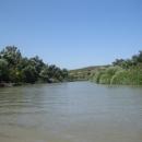 Дельта реки Кубань.