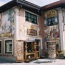 Фрески на домах в технике Luftlmalerei в Германии
