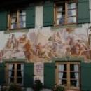 «Воздушная живопись» на фасадах домов в Германии