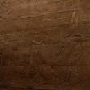 Фрески на стенах в Луксорском храме.