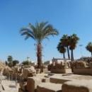 Развалины Луксорского храма в Египте.