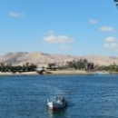 Город Луксор расположен на правом берегу реки Нил.