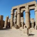 Луксорский храм в Египте, построенный в честь бога Амона.