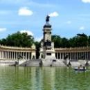 Парк Ретиро - мемориал короля Альфонса XII