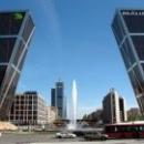 Мадрид Падающие Небоскребы - Ворота Европы