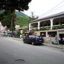 Улицы курорта Гагра. Абхазия.