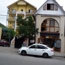 На улицах курорта Гагра. Абхазия.