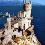 Ласточкино гнездо Скала Дива Крым