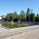 Площадь Героев. Скульптурные группы.