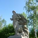 Скульптура «Подвиг моряков» на Площади Героев. Мамаев курган. Волгоград.