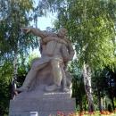 Скульптура «Командир». Площадь Героев. Волгоград.