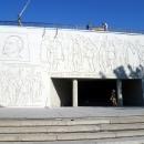 Вход в зал Воинской Славы у Подпорной стены.
