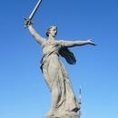Скульптура «Родина-Мать зовёт!». Мамаев курган. Волгоград.