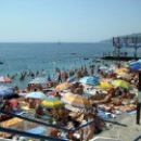 Пляжи в Массандре  отдых в Крыму