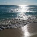 Закатные блики Карибского моря. Мексика.