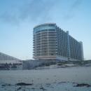 Отели на пляжной косе. Курорт Канкун. Мексика.