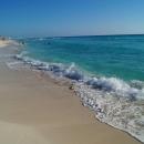 Пляжи курорта Канкун. Карибское море. Мексика.