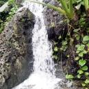 Водопады Мексики в парке Шкарет. Курортная зона Ривьера Майя.