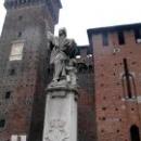 Кастелло Сфорцеско (Castello Sforzesco) в Милане.