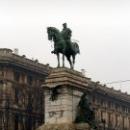 Памятник Джузеппе Гарибальди в Милане.