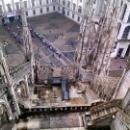 Duomo di Milano. Шпили Кафедрального собора в Милане.