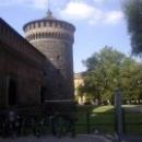Замок Сфорцеско в Милане.