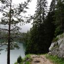 Черное озеро – это популярный туристический объект в Национальном парке Дурмитор.