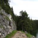 Черное озеро в Черногории.