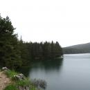 Черное озеро в национальном парке Дурмитор. Черногория.